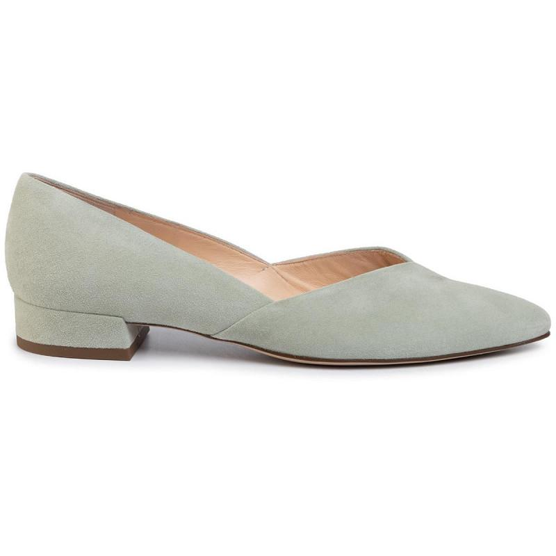 Hogl Womens Slimly Green Low Heels 9-102002-5100 | Vilbury London