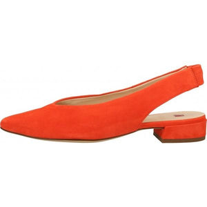 Hogl Womens Easy Red Low Heels 9-102202-4200 | Vilbury London