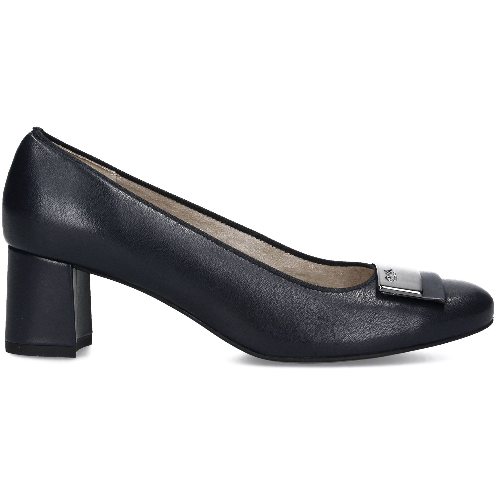 Ara Womens Black Brighton Heels 12-35512-71 | Vilbury London