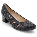 Ara Womens Blue Nizza Heels 12-35862-02 | Vilbury London
