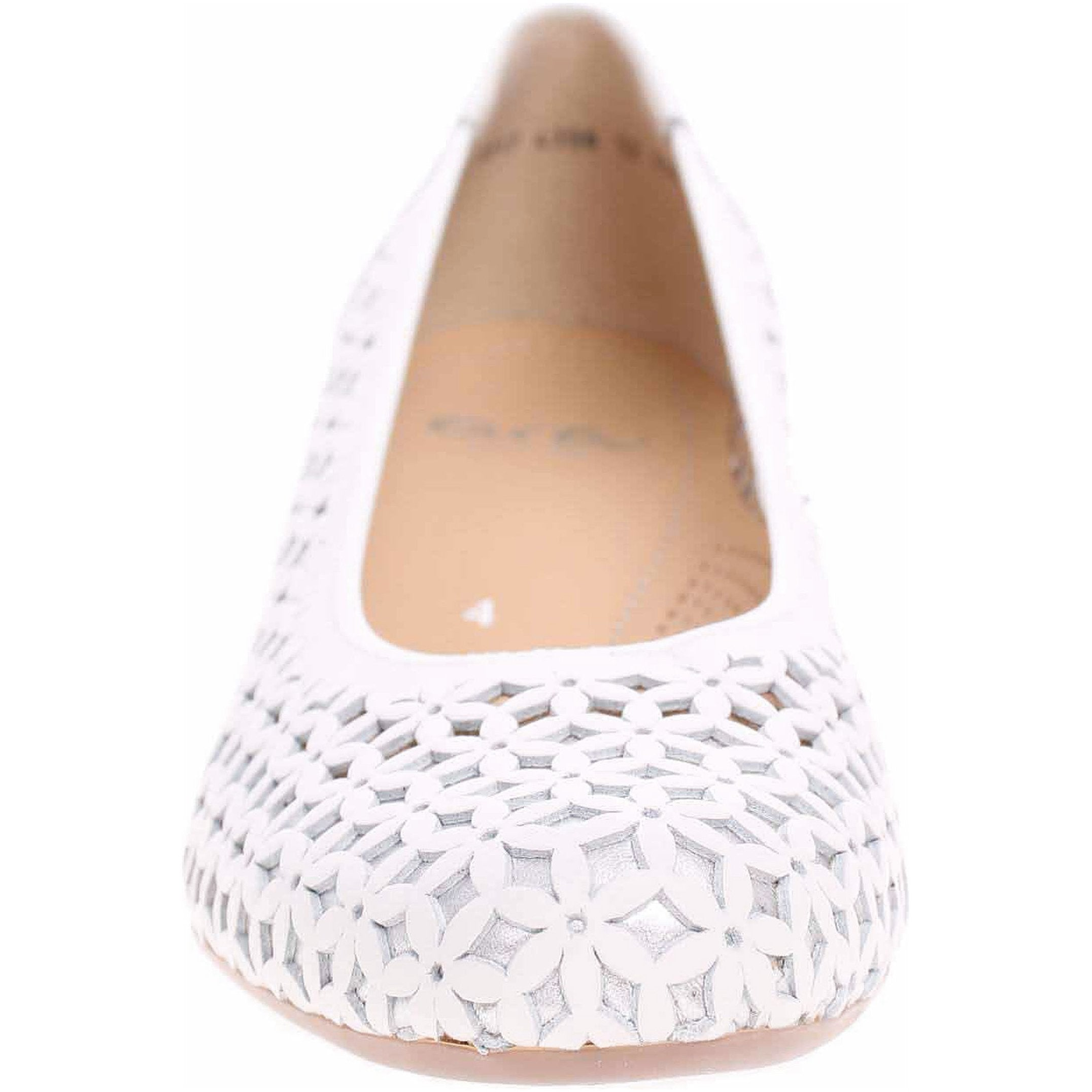 Ara Womens White Nizza Heels 12-35862-05 | Vilbury London