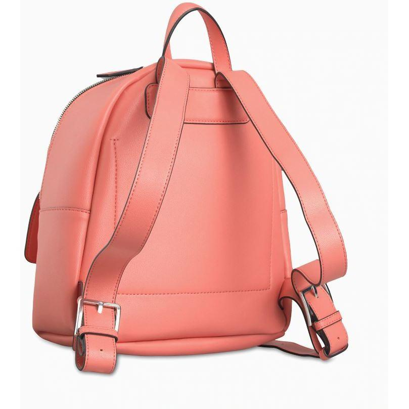 Calvin Klein Womens Coral Backpack K60K606336-XA4 | Vilbury London