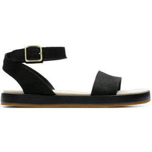 Clarks Womens Black Botanic Ivy Sandals 26141350 | Vilbury London