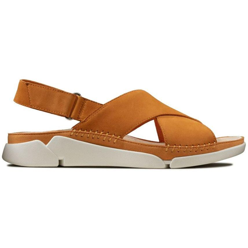 Clarks Womens Gold Tri Alexia Sandals 26147927 | Vilbury London