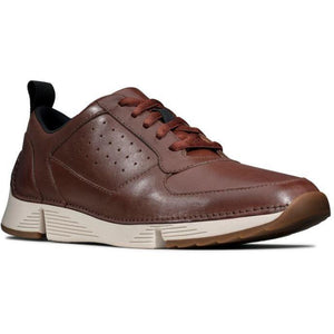 Clarks Mens Brown Tri Sprint Flats 26149467 | Vilbury London