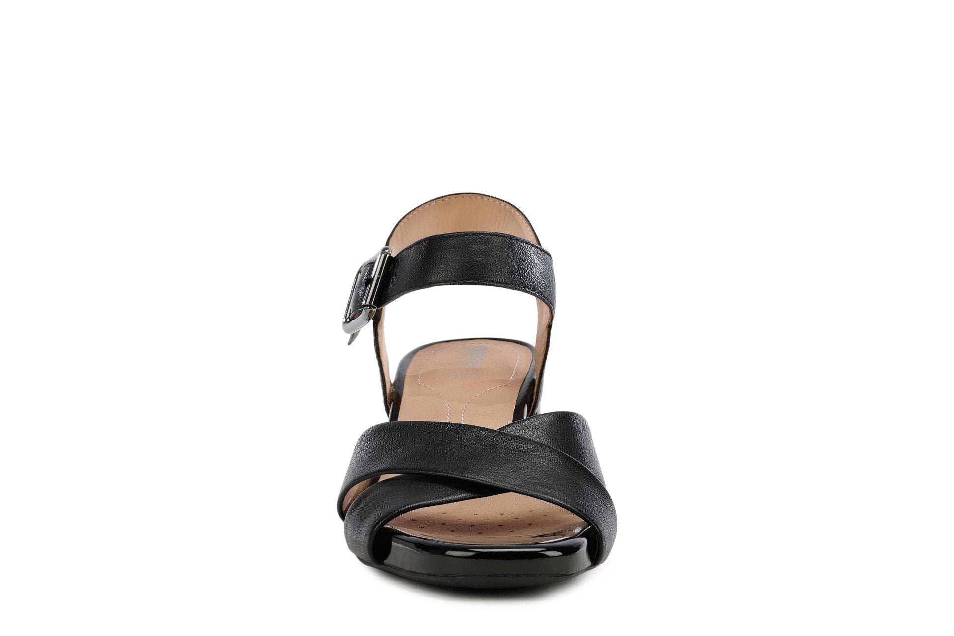 Geox Womens Black D Genziana Mid Sandals D02HAB000TUC9999 | Vilbury London