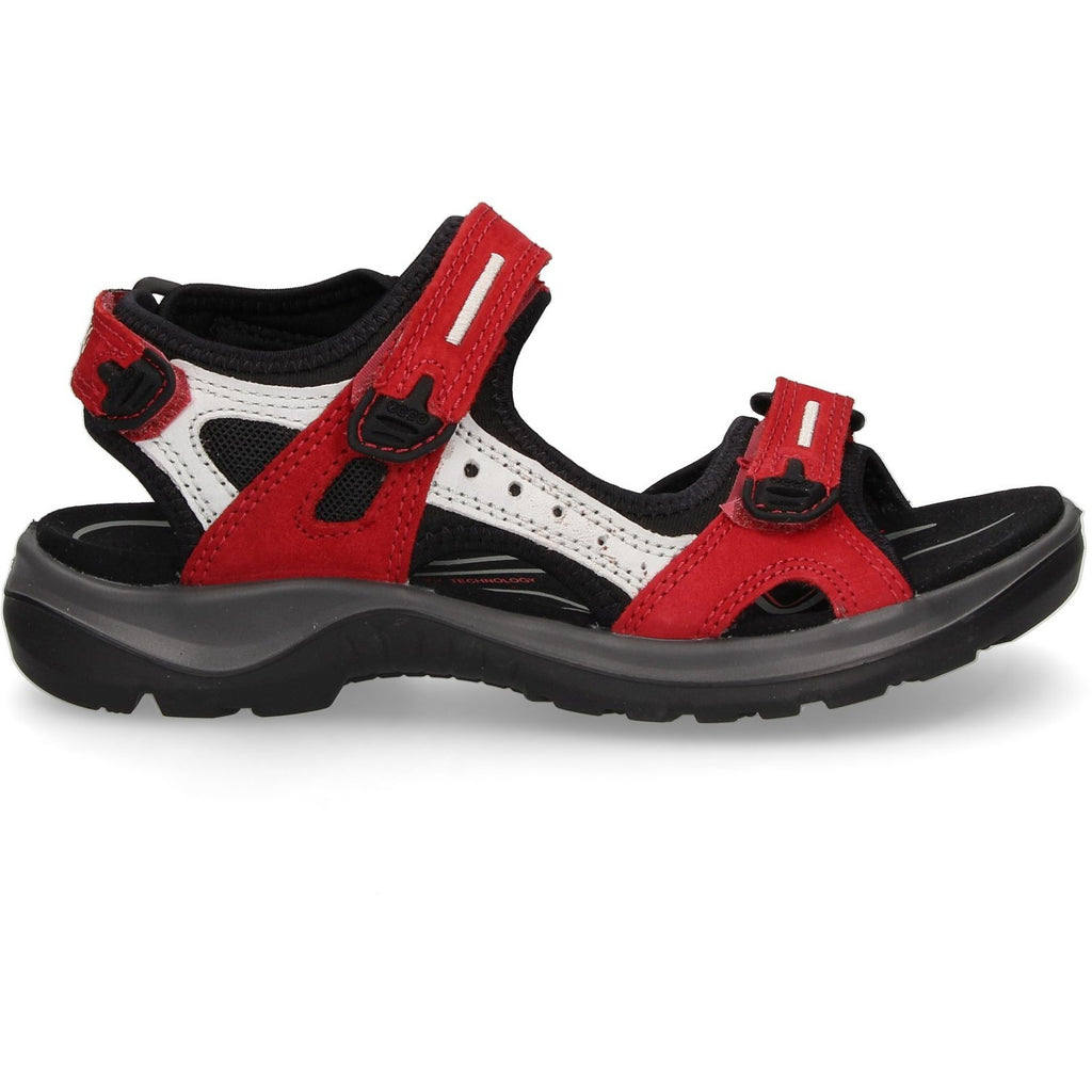 Ecco Womens Red Offroad Sandals 069563-55287 | Vilbury London