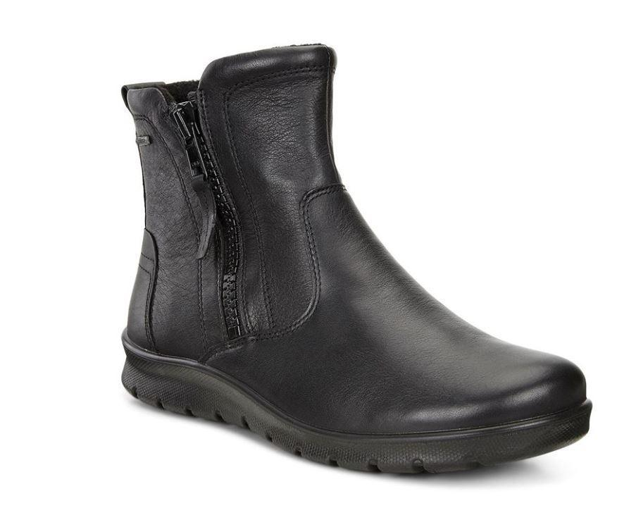Ecco Womens Black Babett Booties 215573-11001 | Vilbury London
