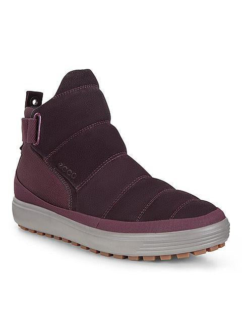 Ecco Womens Purple Soft 7 Tred W Booties 450243-02385 | Vilbury London