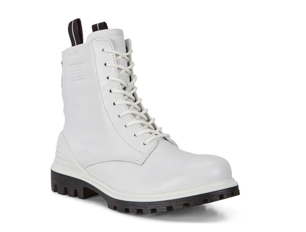 Ecco Womens White Tred Tray W Boots 460333-01007 | Vilbury London