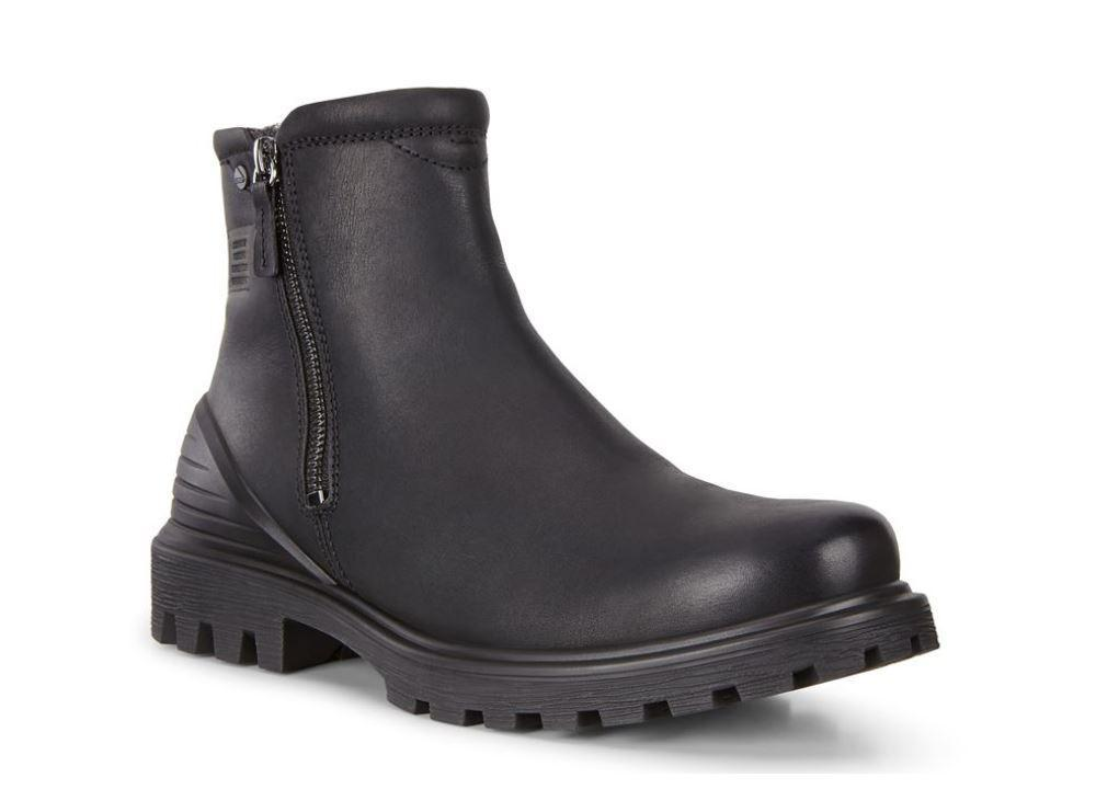 Ecco Mens Black Tred Tray M Boots 460394-02001 | Vilbury London