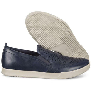 Ecco Mens Blue Collin 2.0 Flats 536284-02086 | Vilbury London