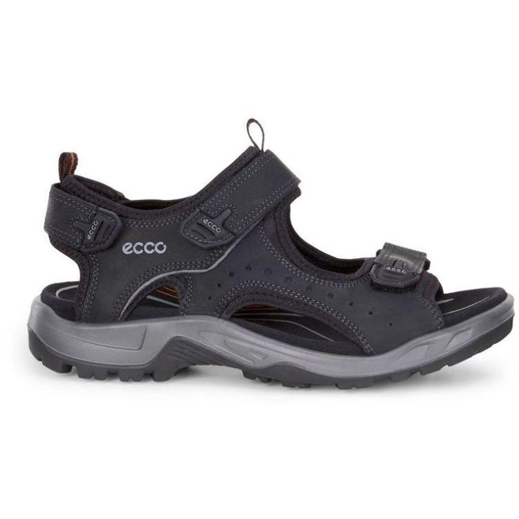 Ecco Mens Black Offroad Sandals 822044-12001 | Vilbury London