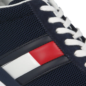 Tommy Hilfiger Mens Flexi Tommy Jeans Flag Runner Sneakers EM0EM00400-C87 | Vilbury London