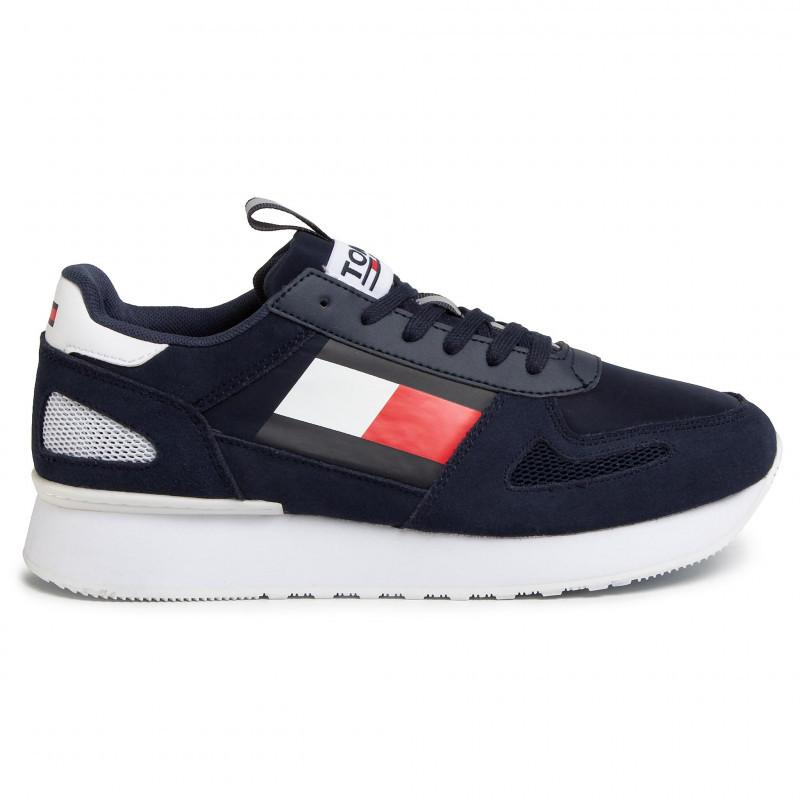 Tommy Hilfiger Mens Tommy Jeans Lifestyle Runner Sneakers EM0EM00410-C87 | Vilbury London