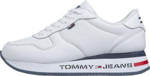 Tommy Hilfiger Womens Flatform Runner Sneakers EN0EN00778-YBS | Vilbury London