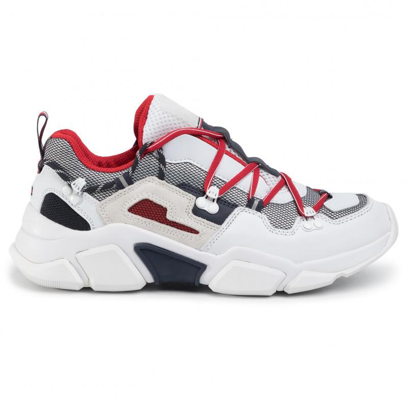 Tommy Hilfiger Mens City Voyager Chunky Trainers FM0FM02580-YBS | Vilbury London