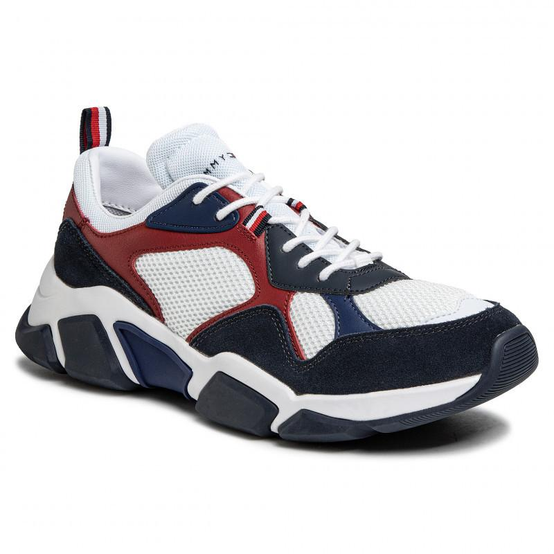 Tommy Hilfiger Mens Chunky Runner Sneakers FM0FM02660-YBS | Vilbury London