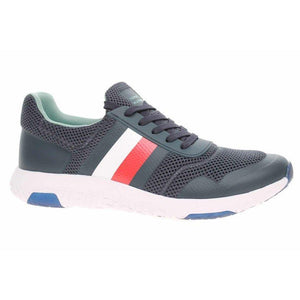 Tommy Hilfiger Mens Corporate Light Runner Sneakers FM0FM02742-DW5 | Vilbury London