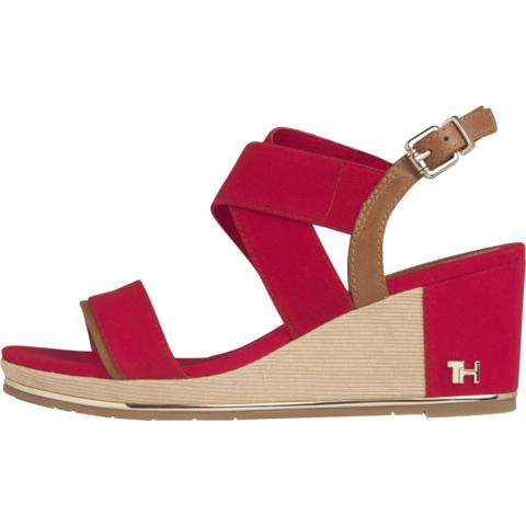 Tommy Hilfiger Womens TH Hardware Basic Sandals FW0FW04730-XLG | Vilbury London
