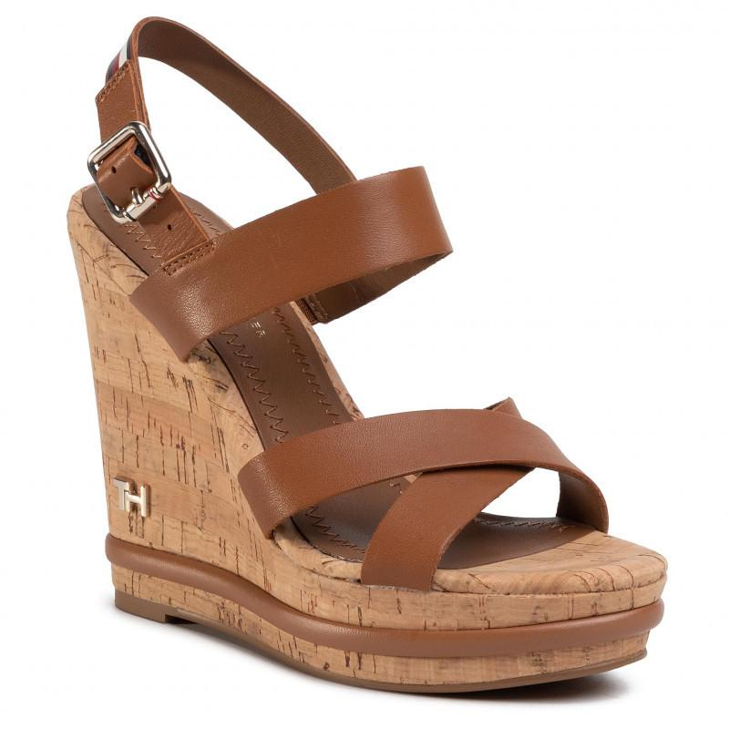 Corporate Wedge Sandals
