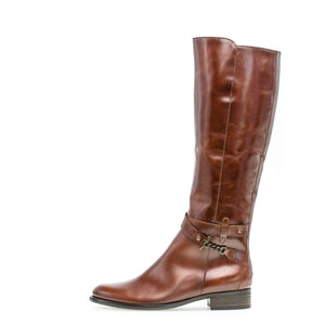 Gabor Womens Brown Nappa Jamaika Sattel Boots 31643-22 | Vilbury London