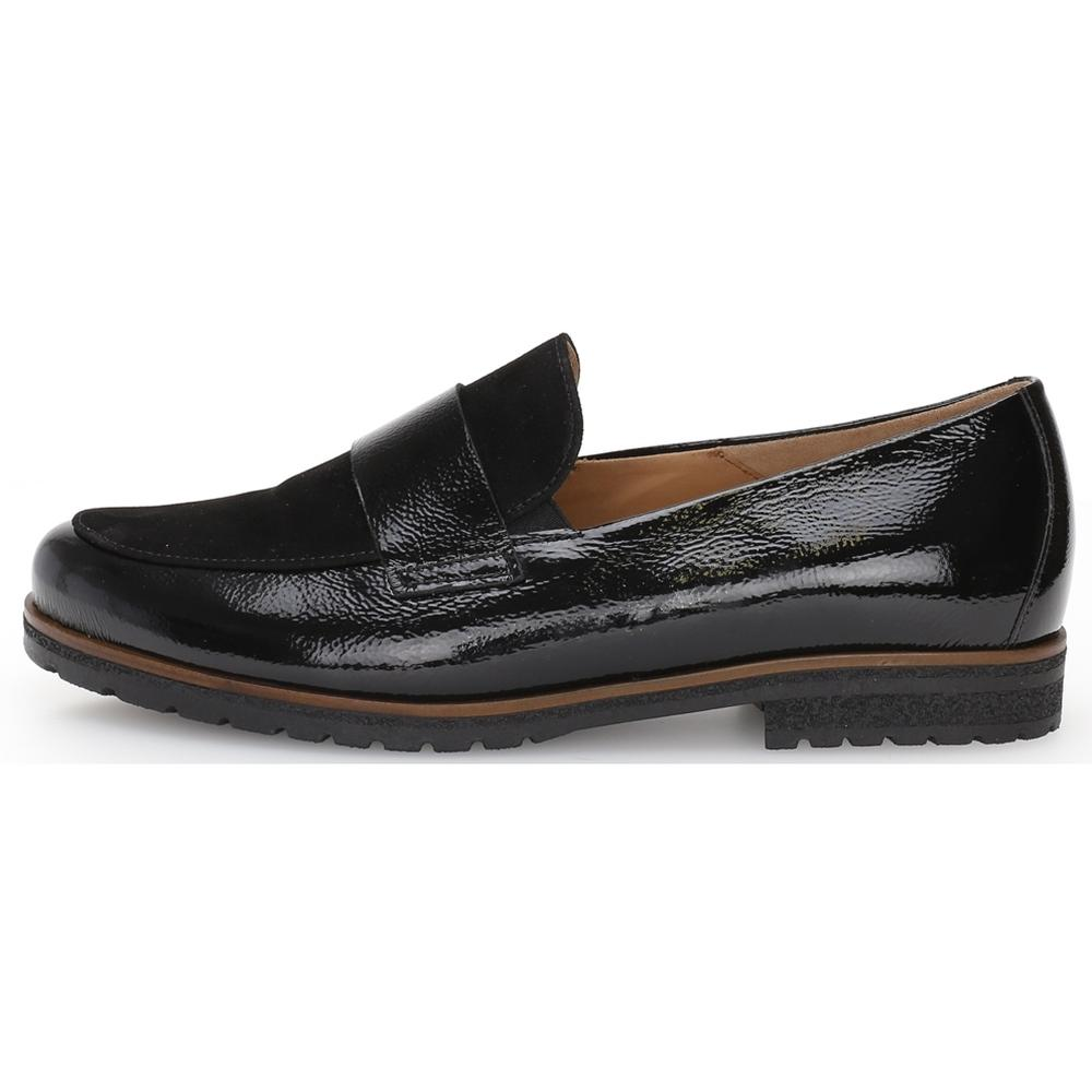 Gabor Female Black Florenz Flats Schwarz 52432 37 | Vilbury London