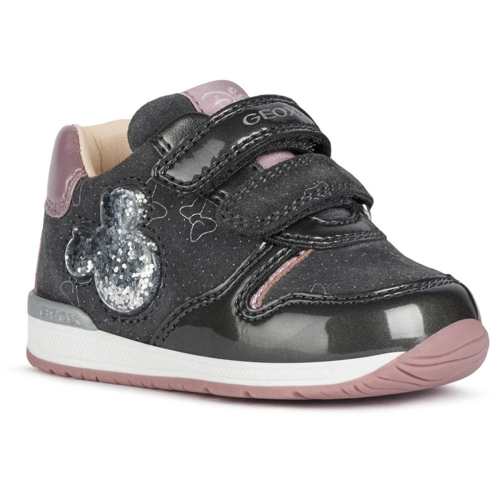 Geox Unknown Grey B Rishon Girl Dark Grey B040LC-022HI C9002 | Vilbury London