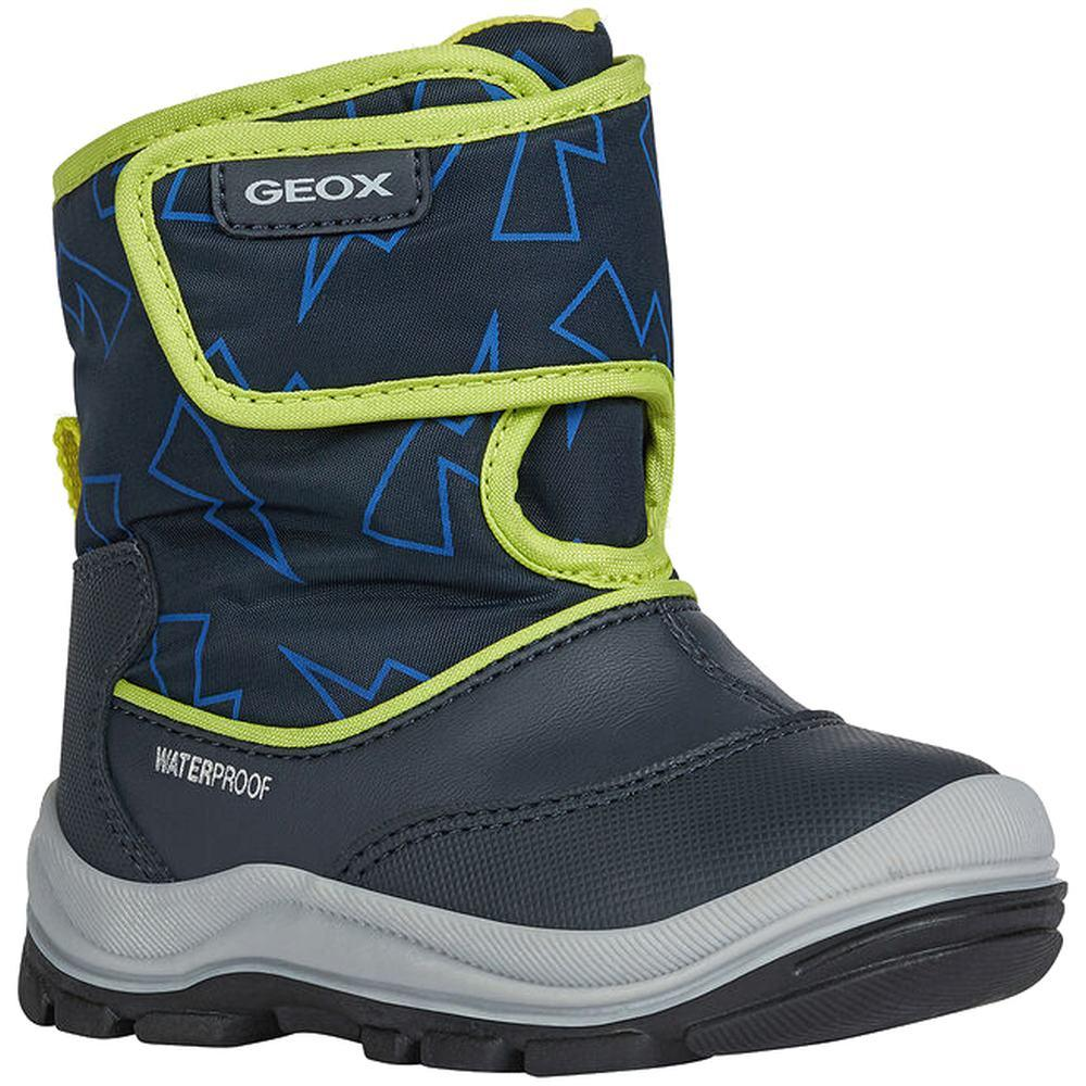 Geox Unknown Blue B Flanfil Boy B Wpf Navy Lime B044HA-050MN C0749 | Vilbury London