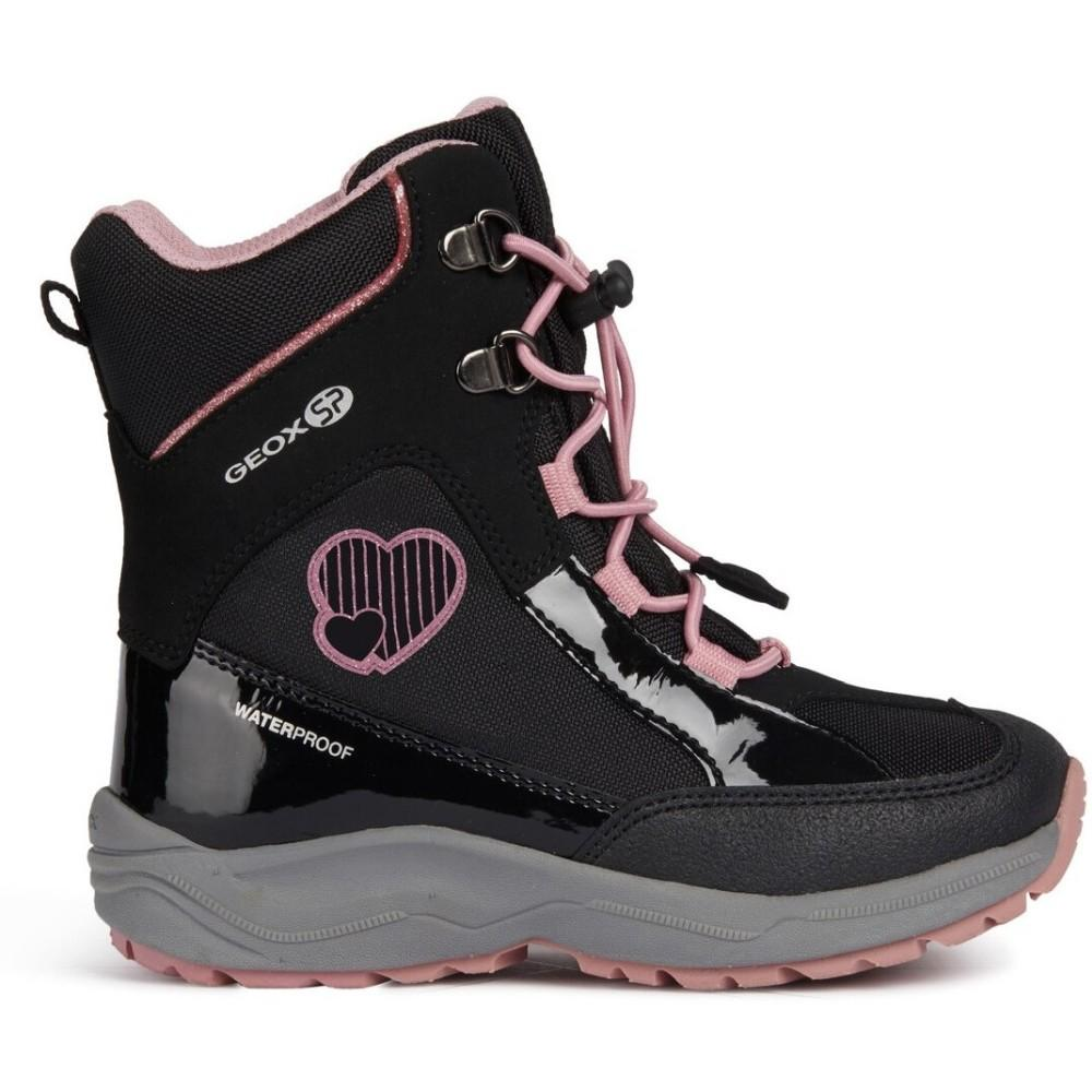 Geox J New Alaska Girl B Boots J848BB-050HH-C0618 | Vilbury London