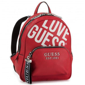 Guess Womens Red Haidee Backpack HWGL75 86320 RED | Vilbury London