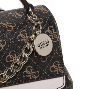 Guess Womens Brown Lorenna Backpack HWSG76 71320 BRO | Vilbury London