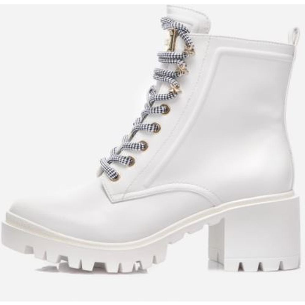 Guess Female White Magaly Stivaletto Bootie Lea FL7MAYELE10 WHITE | Vilbury London