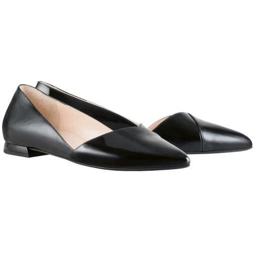 Hogl Womens Boulevard 10 Schwarz Low Heels 0-120014-0100 | Vilbury London