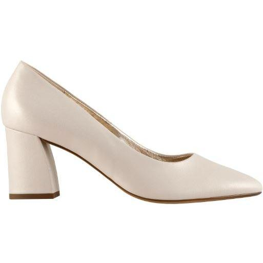 Hogl Womens Studio 50 Beige High Heels 0-125003-0900 | Vilbury London