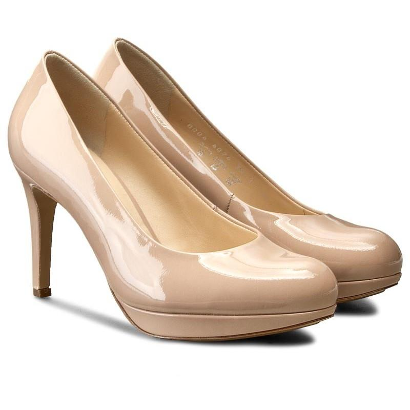 Hogl Womens Studio 80 Nude High Heels 0-128004-1800 | Vilbury London