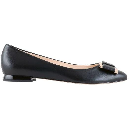 Hogl Womens Harmony Schwarz Low Heels 9-101080-0100 | Vilbury London