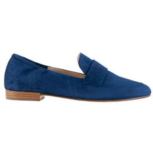 Hogl Womens Pillow Blue Flats 9-101602-3100 | Vilbury London