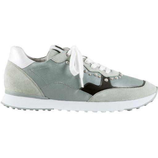 Hogl Womens Athletic Green Trainers 9-102311-5100 | Vilbury London