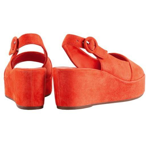 Hogl Womens Seaside Red Sandals 9-103202-4200 | Vilbury London