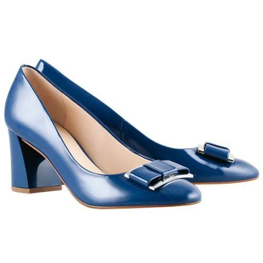 Hogl Womens Fancy Blue High Heels 9-105084-3100 | Vilbury London