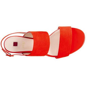 Hogl Womens Purity Red Sandals 9-105542-4200 | Vilbury London