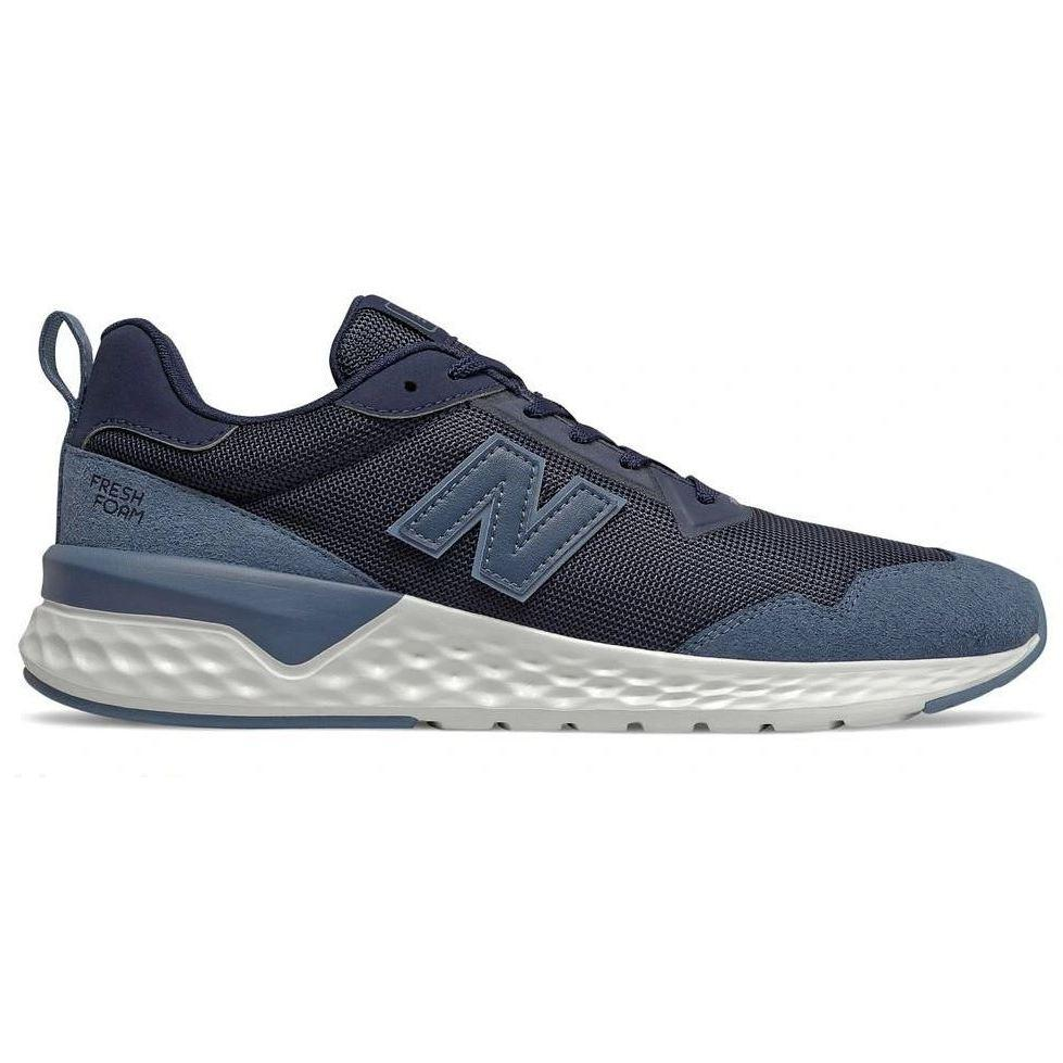New Balance Mens 80S Running Navy Sneakers MS515CD2 | Vilbury London
