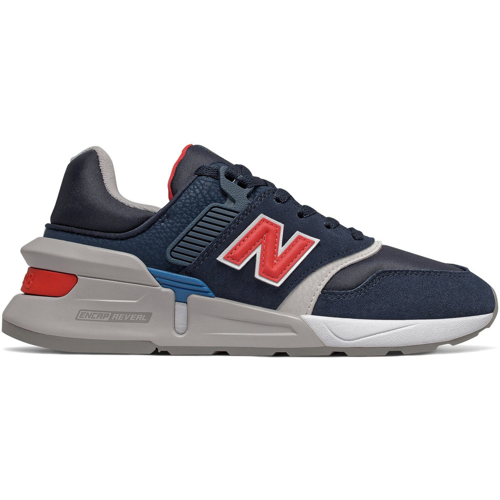 New Balance Womens 997 Sport Navy Red Sneakers WS997BVC | Vilbury London