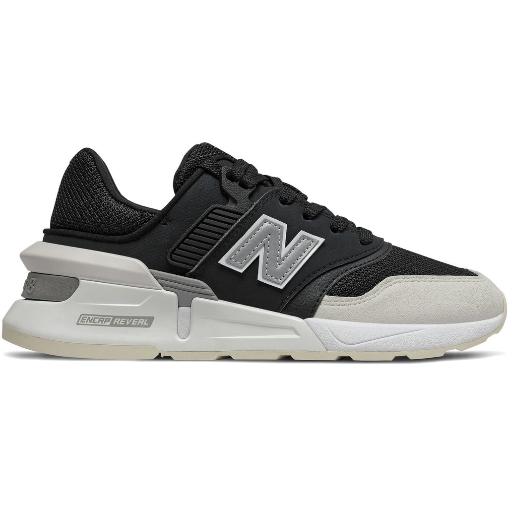 New Balance Womens 997 Sport Black Grey Sneakers WS997GFG | Vilbury London