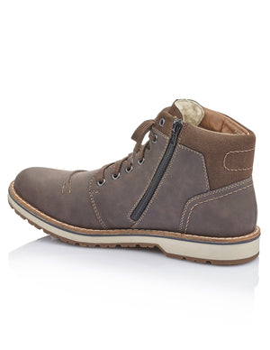 Rieker Mens Eriwan Virage Boots 39231-26 | Vilbury London