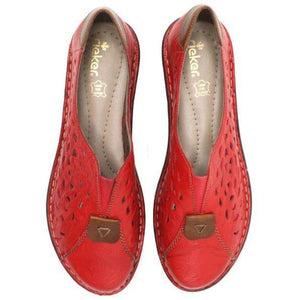 Rieker Womens Fire Amaretto Flats 48451-33 | Vilbury London