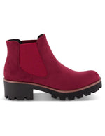 Rieker Womens Microscamo Red Ankle Boots 99284-35 | Vilbury London