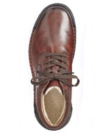 Rieker Mens Nobel Filz Virage Brown Ankle Boots B0348-25 | Vilbury London