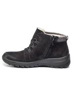 Rieker Womens Talamon Knit Namur Ankle Boots L7140-00 | Vilbury London